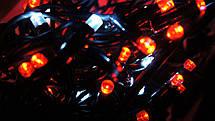 УЛИЧНАЯ СВЕТОДИОДНАЯ ГИРЛЯНДА НИТЬ 5М ФИОЛЕТОВЫЙ,гирлянды для улицы,уличные гирлянды,50 LED, фото 3