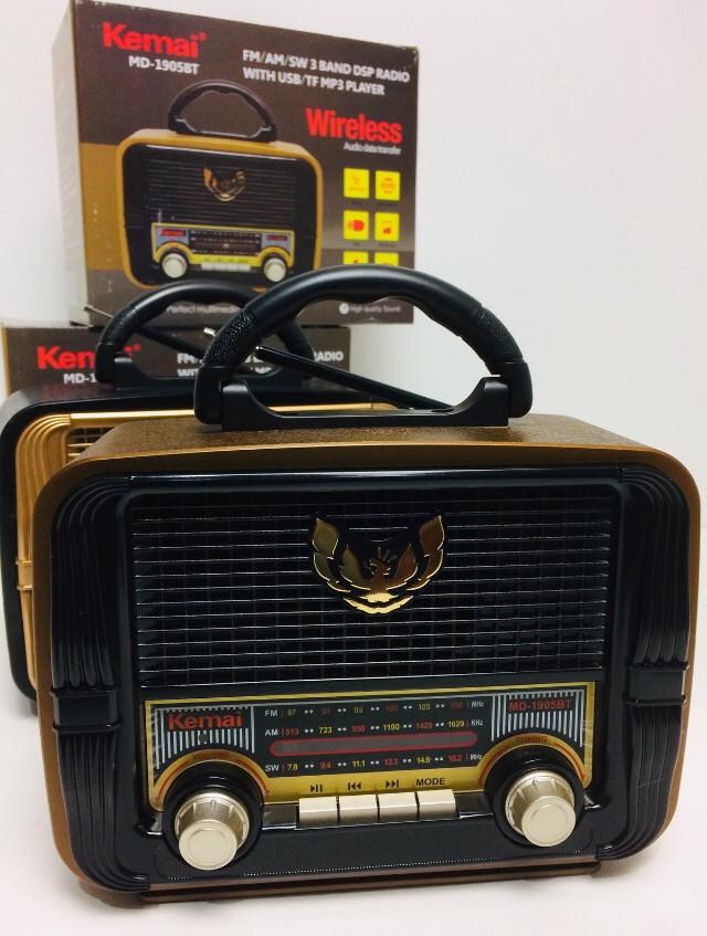Радиоприемники,колонк с блютозам Kemai MD-1905 BT (24 шт/ящ)