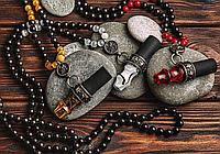 Персональный мундштук для кальяна Japona Hookah (Япона Хука) - Mouth Tip Samurai Beads (бусы), фото 1