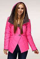 Куртка В-1196 Лаке, розовый