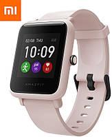 Новинка Xiaomi Amazfit Bip S Lite Sakura Pink Глобальная Версия EU Смарт-Часы A1823