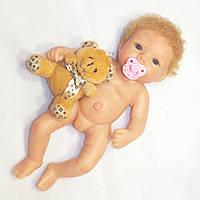 Силиконовая бесшовная кукла реборн девочка Джульетта 28 см