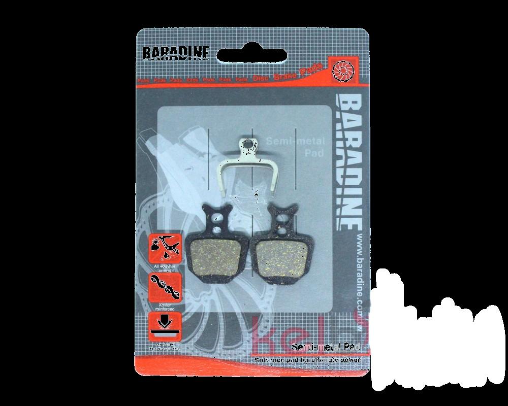 Дисковые тормозные колодки велосипеда Baradine DS-31