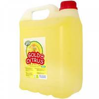 Средство для мытья посуды Моющее средство для посуды, 5л, GOLD Cytrus  014908, фото 1