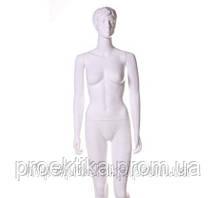 Манекен женский белый с макияжем