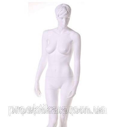 Манекен женский белый без макияжа