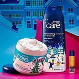 Подарунковий новорічний Набір з маслом авокадо 3 в 1 AVON Care Naturals (крем+лосьйон+бальзам для губ), фото 2