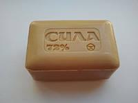 Мыло хозяйственное Сила коричневое 72% 200г 0151035