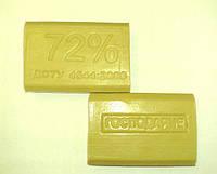Мыло хозяйственное 72% коричневое 200г Запорожье 0151040