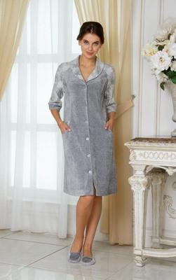 Велюровый женский халат Emmi 14135
