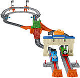 Железная дорога моторизованная гонка Томаса и Перси   Thomas & Friends TrackMaster Thomas & Percy, фото 3