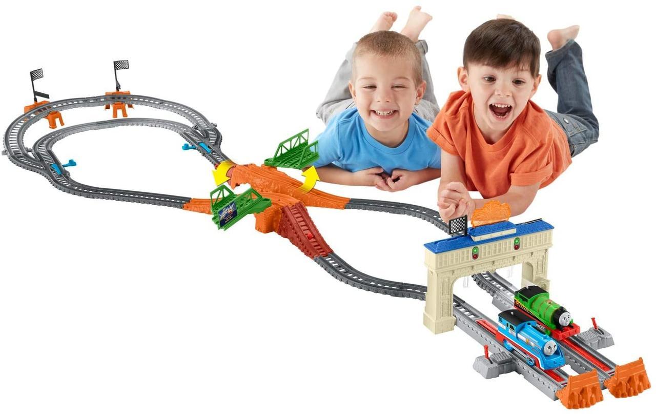 Моторизированная железная дорога гонка Томаса и Перси   Thomas & Friends TrackMaster Thomas & Percy's Railway