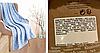 Плед покрывало Yves Rocher голубой флис флисовый супер мягкий, фото 5