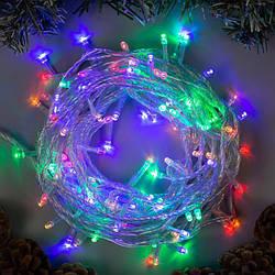 Гирлянда нить светодиодная 400 LED, 25 метров, разноцветный