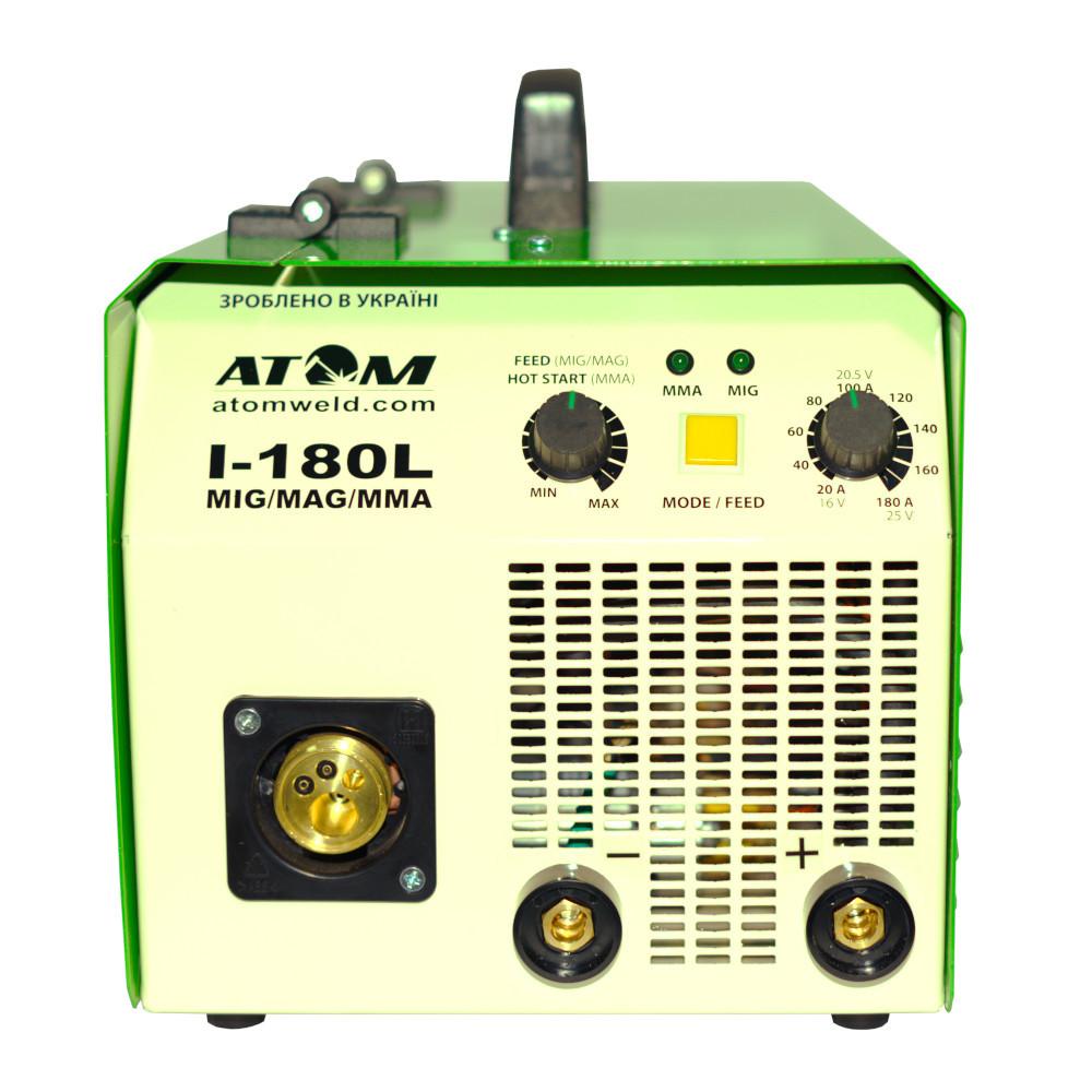 Зварювальний інверторний напівавтомат Атом I-180L MIG/MAG