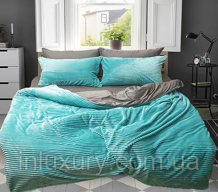 Комплект постельного белья зима-лето Mint, фото 2