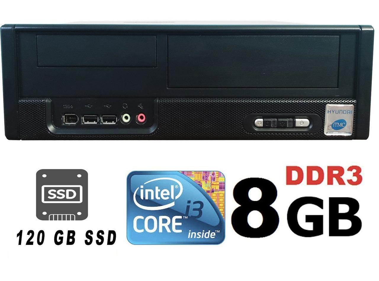 MSI SFF / Intel Core i3-3220 (2(4)ядра по 3.30GHz) / 8 GB DDR3 / 500 GB HDD