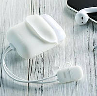USB-ЗУ для Airpods REMAX Cole Protective Charging Case 2,1A/0,09m White