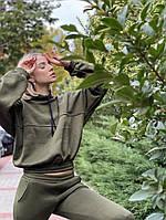 Женский спортивный костюм на флисе «Кокетка», фото 1