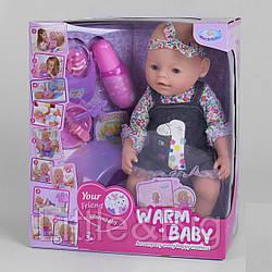"""Пупс """"Baby"""" с магнитной соской (Warm baby) арт. 058 A-590"""