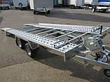 Прицеп автовоз Humbaur FTK 274020, фото 4