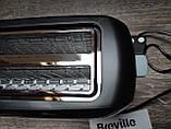 Breville 4-Slice Тостер, 2 длинных слота, высокий подъем и переменная ширина, черный, фото 6