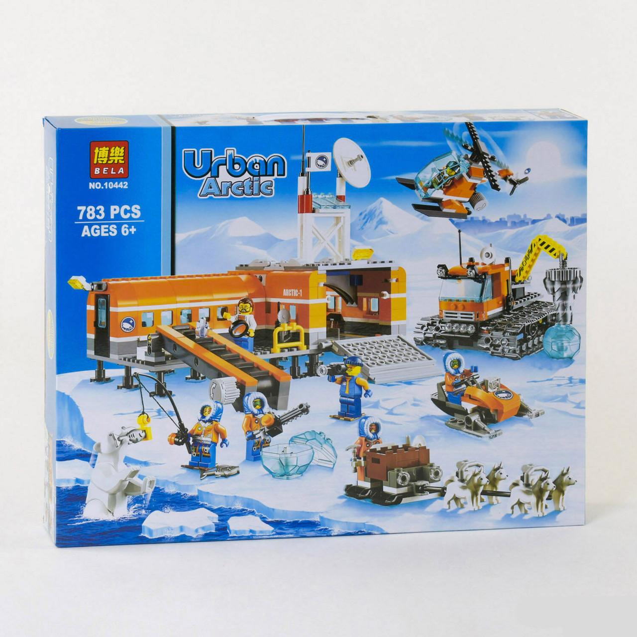 Конструктор Bela 10442 Арктика лагерь большой набор