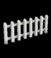 Деревянная секция Забор White Garden для ограждения детской игровой площадки на даче, в детсаду 105х6х40 см