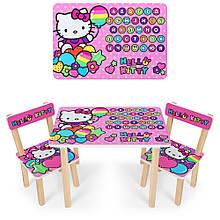 """*Набір меблів - столик і 2 стільці """"Hello Kitty"""" арт. 501-49"""