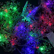 Светодиодная Гирлянда Adenki Снежинка Multicolor (2-С23458-61325)