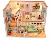 """3D Румбокс Кукольный Домик """"Because of You"""" DIY DollHouse + защитный купол, фото 1"""
