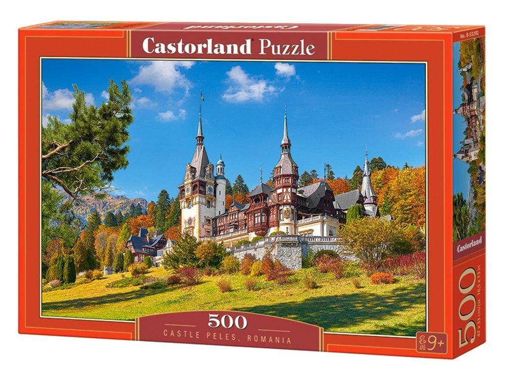 """Пазли Castorland """"Замок Пелеш, Румунія"""" 500 ел. (B-53292)"""