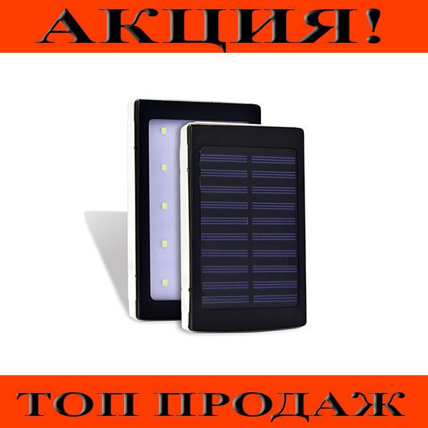 Моб. Зарядка POWER BANK Metal+LED Solar 90000mah / sc-5 (реал. емкость 9600)!Хит цена