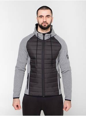 Чоловіча спортивна куртка (сіра)
