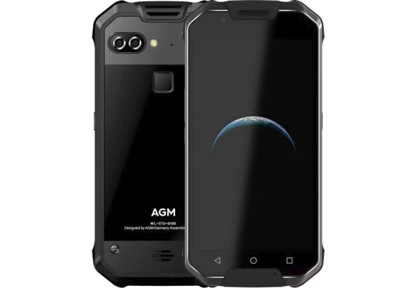 AGM X2 SE 6/64Gb black glass