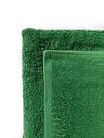 Махровое полотенце для бани, 70 х 140см, Туркменистан, 430 гр\м2, Зеленый изумруд