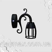 Спот поворотный на 1-лампу TWIST/CUP GU10  черный бра