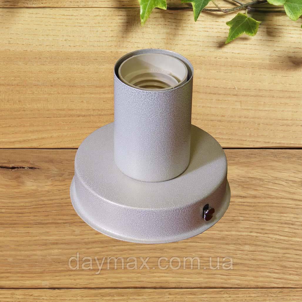 Светильник бра настенно-потолочный на 1-лампу BASE  E27 белый