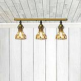 Светильник поворотный на 3-лампы RINGS/LS-3  E27 бра, золото, фото 2