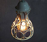 Подвесная люстра на 3-лампы RINGS-3 E27 белый, фото 5