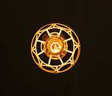 Подвесная люстра на 3-лампы RINGS-3 E27 белый, фото 6