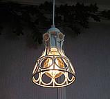 Подвесная люстра на 2-лампы RINGS-2 E27 белый, фото 4
