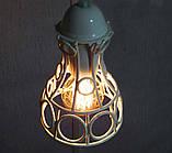 Подвесная люстра на 2-лампы RINGS-2 E27 белый, фото 5