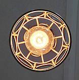 Подвесная люстра на 2-лампы RINGS-2 E27 белый, фото 6
