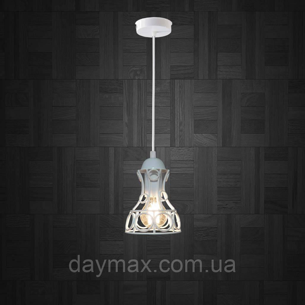 Подвесной светильник RINGS E27 белый