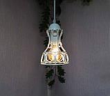 Подвесной светильник RINGS E27 белый, фото 2