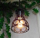 Подвесной светильник RINGS E27 чёрный, фото 4