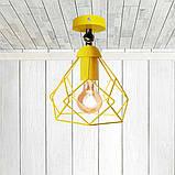 Светильник поворотный на 1-лампу RUBY/LS  E27 бра желтый, фото 2