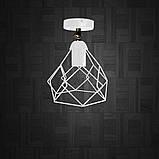 Светильник поворотный на 1-лампу RUBY/LS  E27 бра белый, фото 2