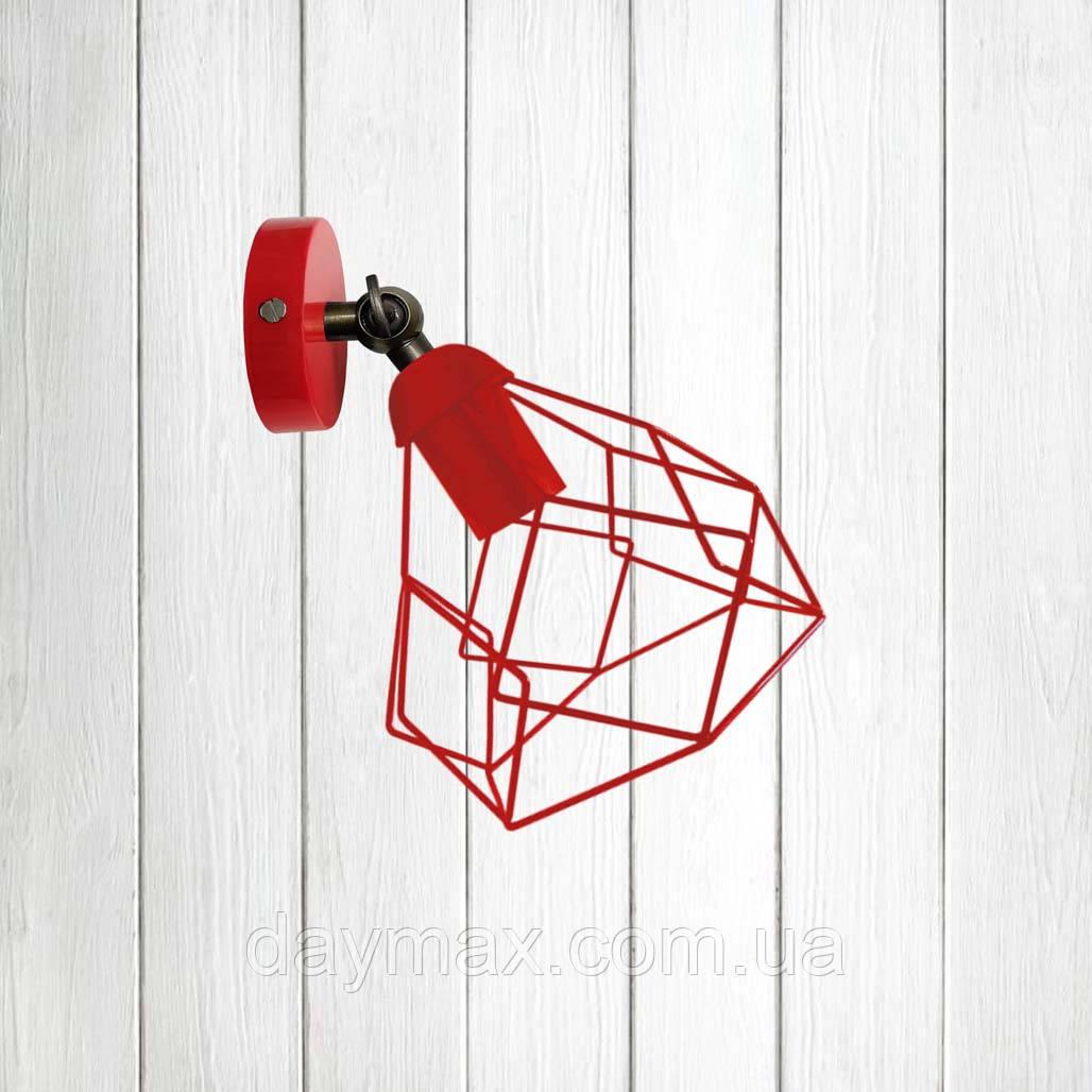 Светильник поворотный на 1-лампу RUBY/LS  E27 бра красный